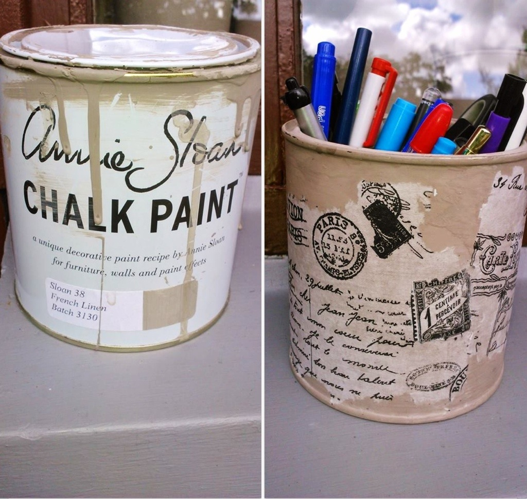A new use for an old paint jar