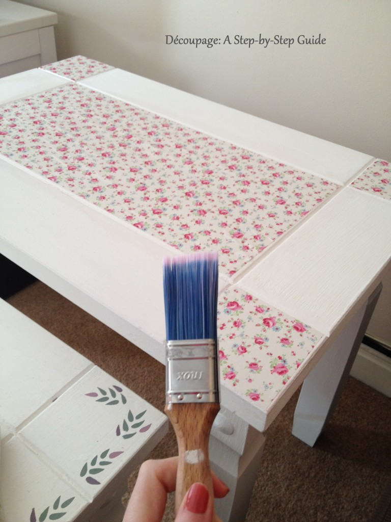 Decoupage. a StepbyStep Guide